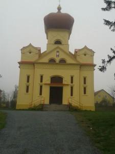 Chudobín - kostel1